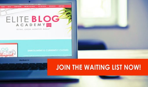 Join Elite Blog Academy to create a profitable blog and share money making crafts