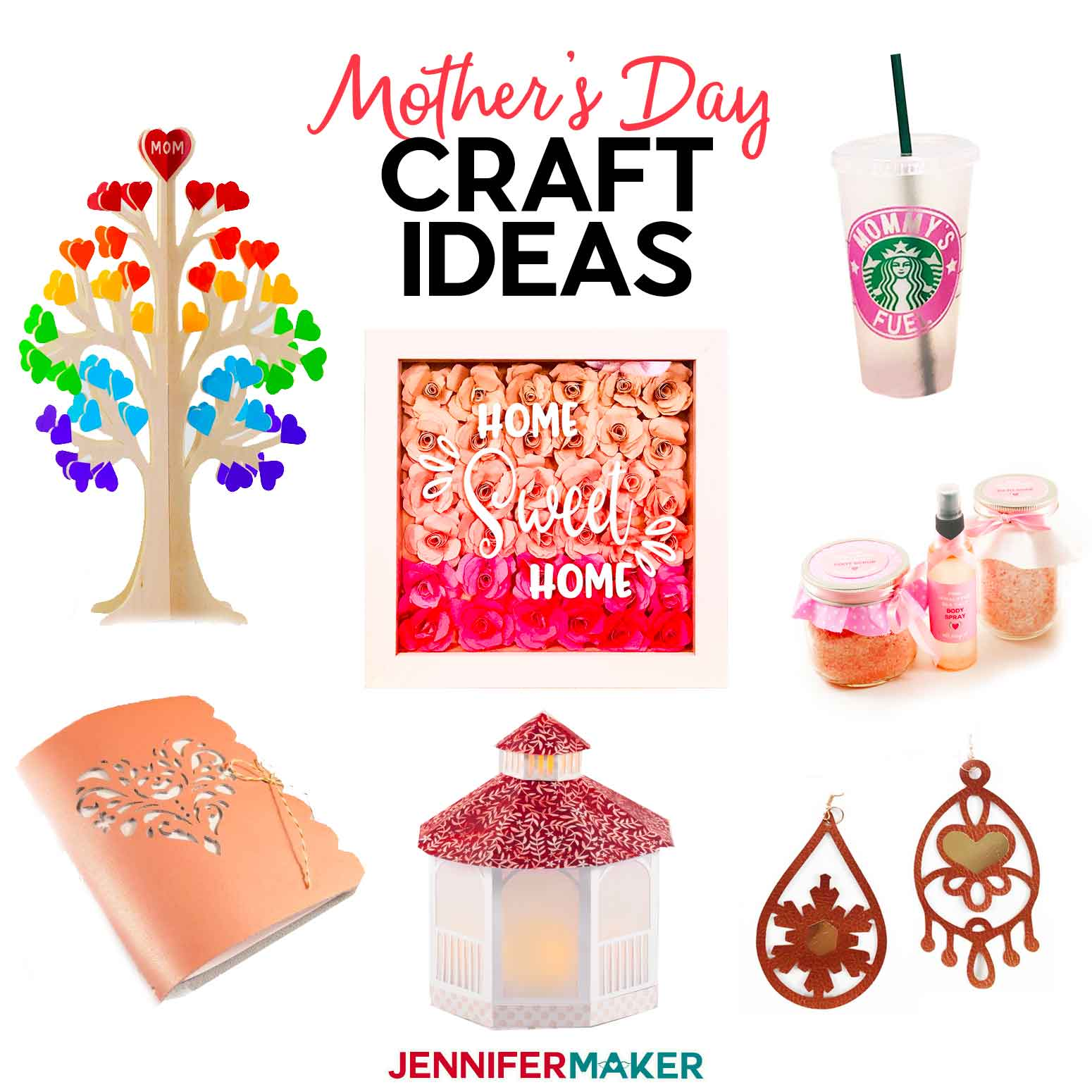 Mother S Day Craft Ideas Fun Things To Make For Your Mom Jennifer Maker