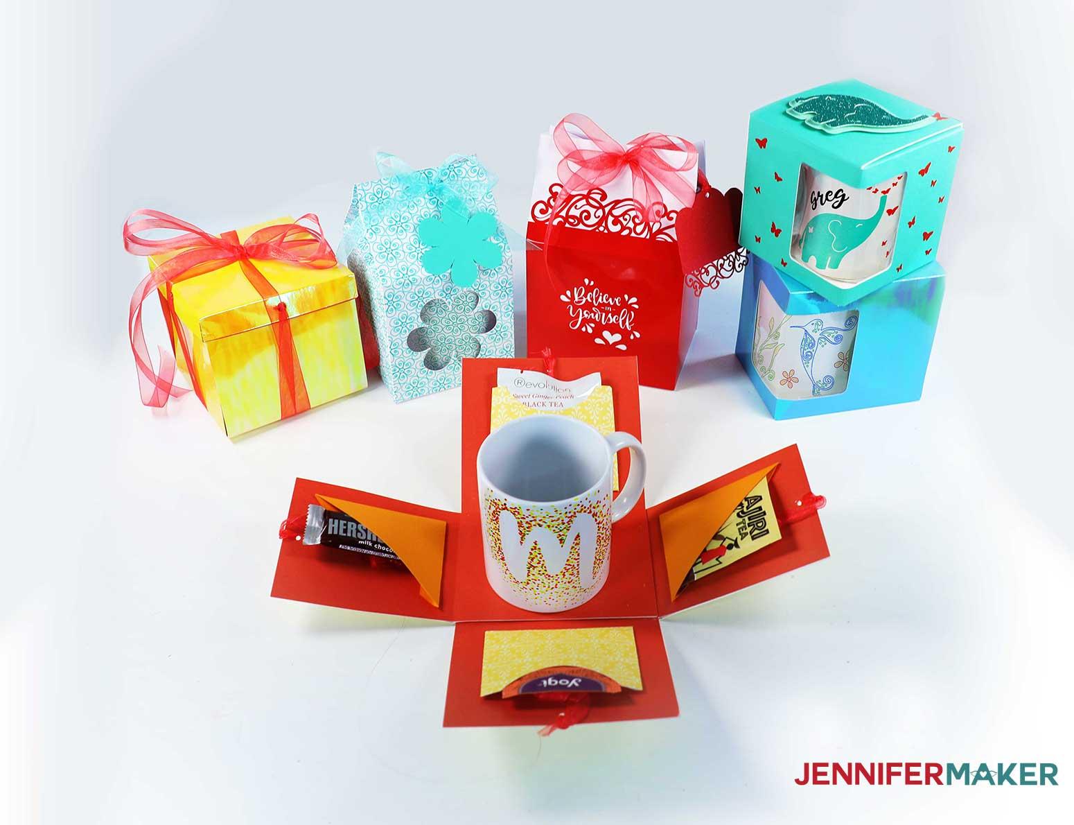 Mug gift boxes