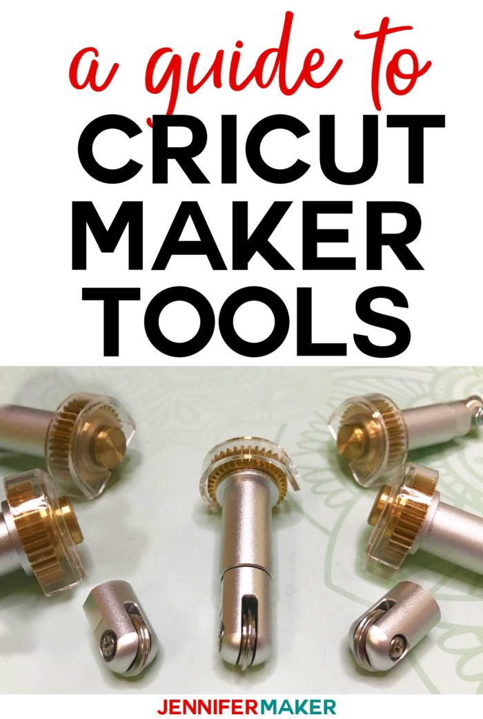 Cricut Maker Tools: Engraver, Debosser, Perforator, and Wavy Edger: Guide to the New Tools #cricutmaker #embossing #engraving