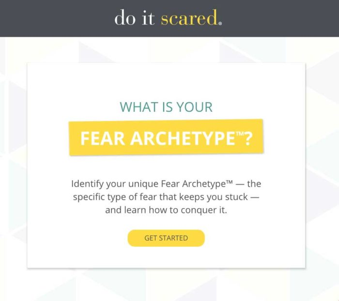Do It Scared Fear Assessment