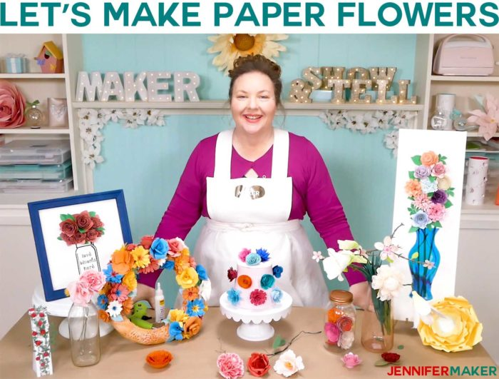 Let's Make Paper Flowers with Jennifer Maker