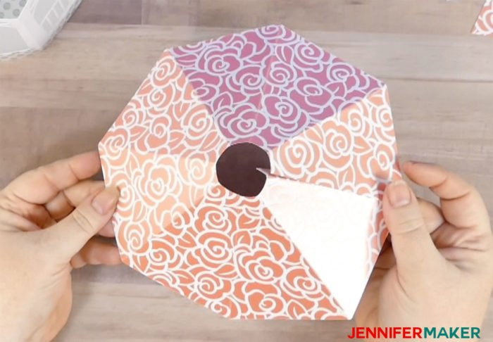 Paper Gazebo Luminary For Moms And Brides Jennifer Maker