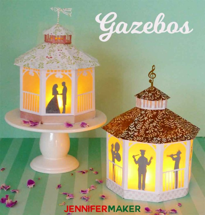 Paper Gazebos for weddings and summer events