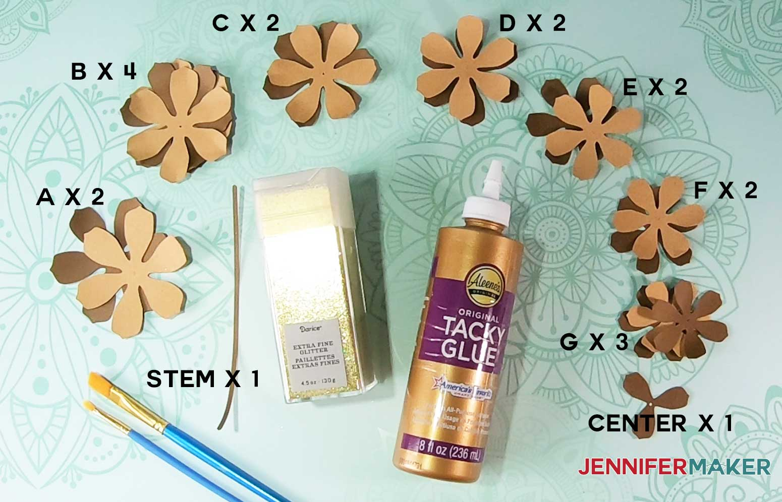 paper pinecone materials