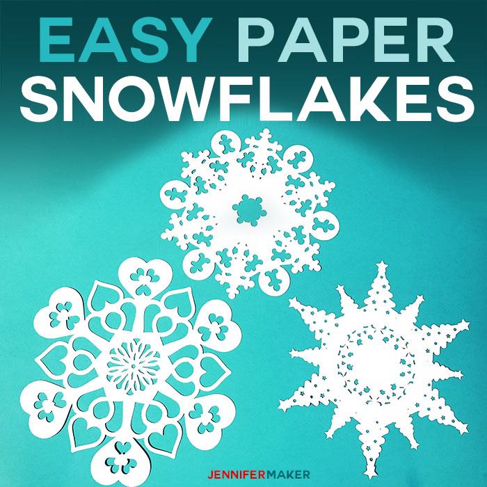 easy diy paper snowflakes free templates and svg files for cricut