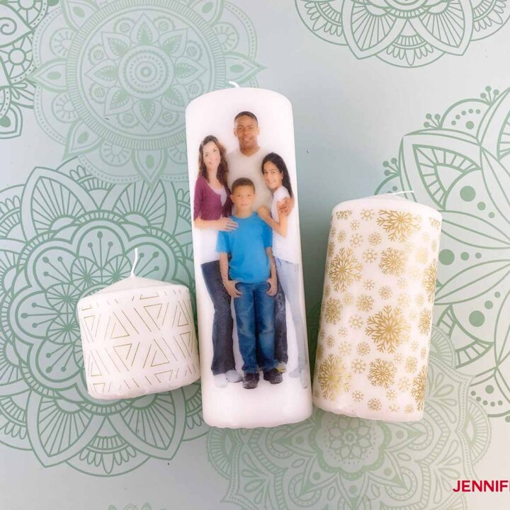 PREVIEW of Personalized Candles