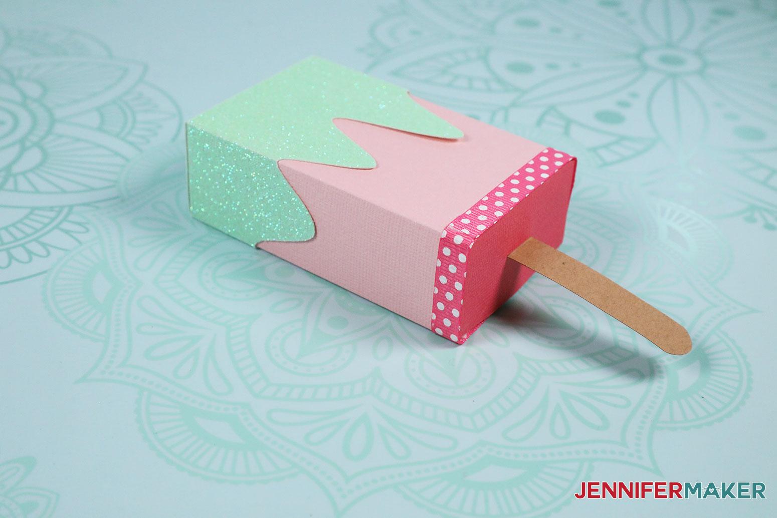 Popsicle box by JenniferMaker