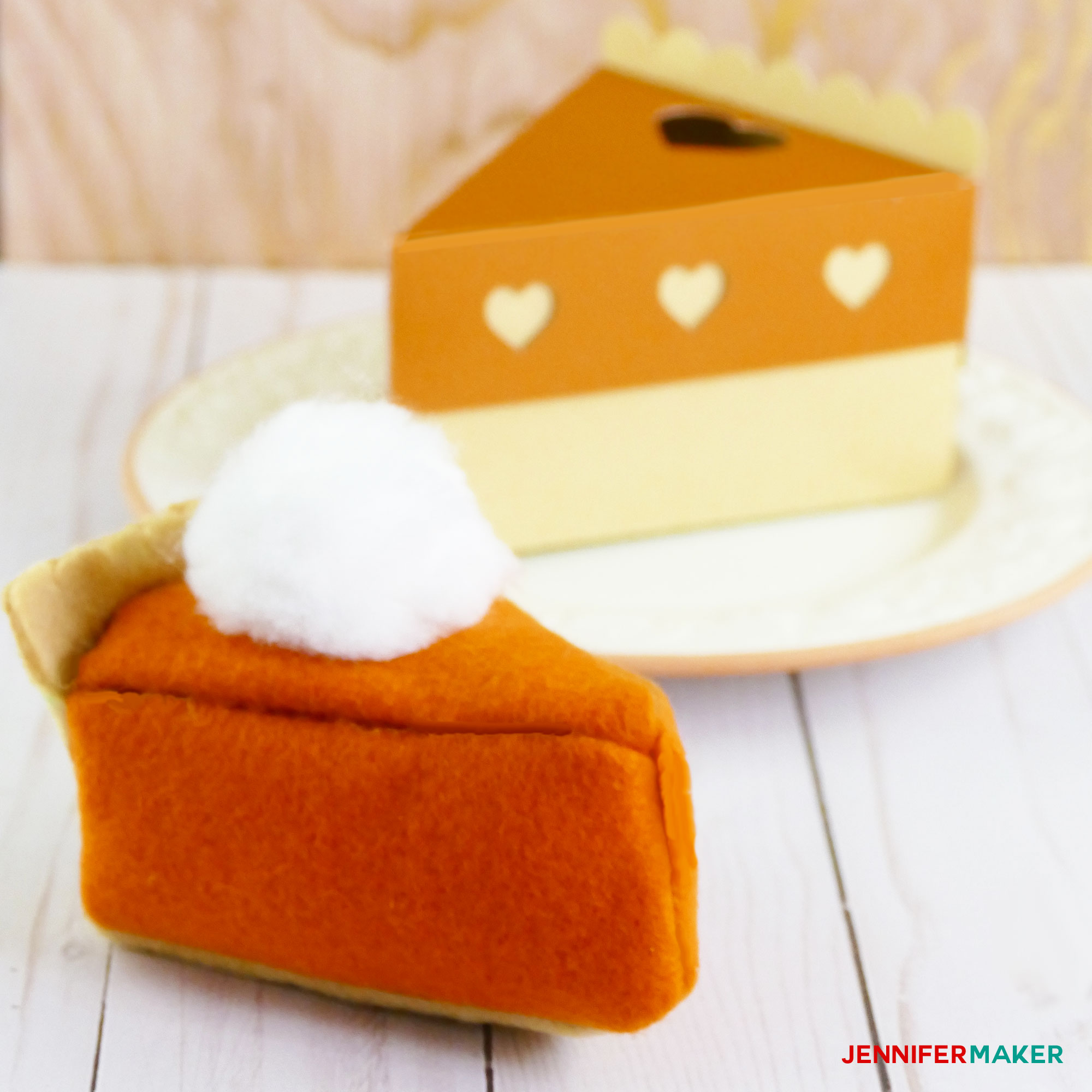 Make a Fleece Pumpkin Pie Plushie as a Cricut Maker Project