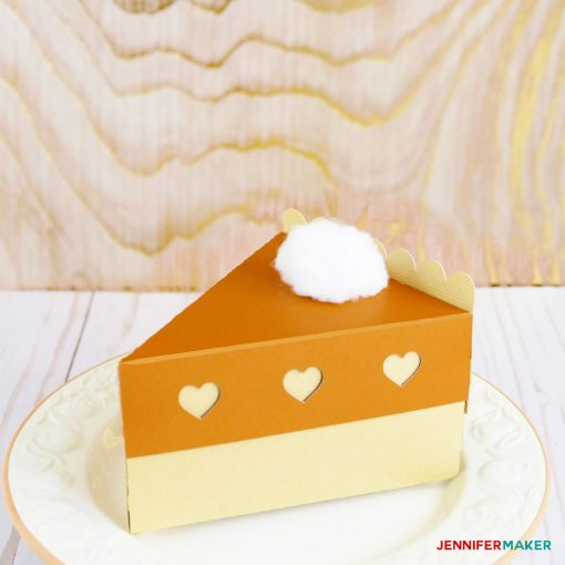 Pumpkin Pie Slice Box
