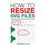 How to Resize SVG Fies in Cricut Design Space #svgcutfiles #cricut #designspace
