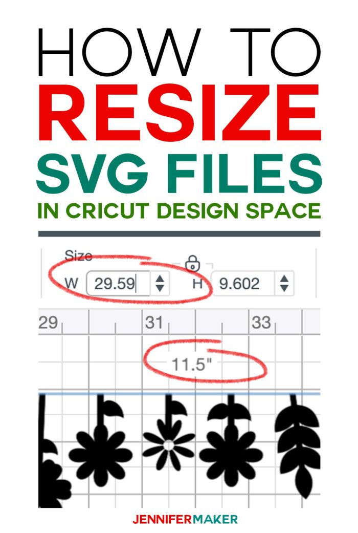 How to Resize SVG Fies in Cricut Design Space #svgcutfiles #cricut #designspace #cricutdesignspace #svgfiles