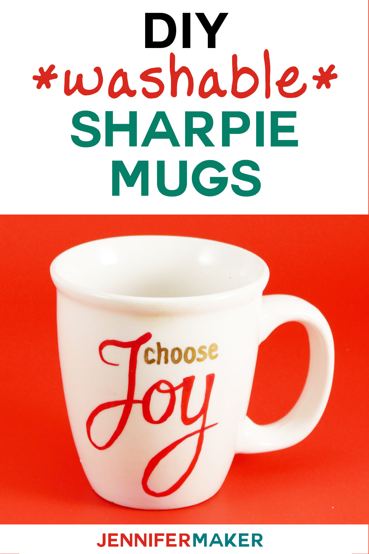 Diy sharpie mugs for easy personalized gifts jennifer maker sharpie mug diy instructions my dishwasher safe sharpie mug ideas and designs make great solutioingenieria Choice Image