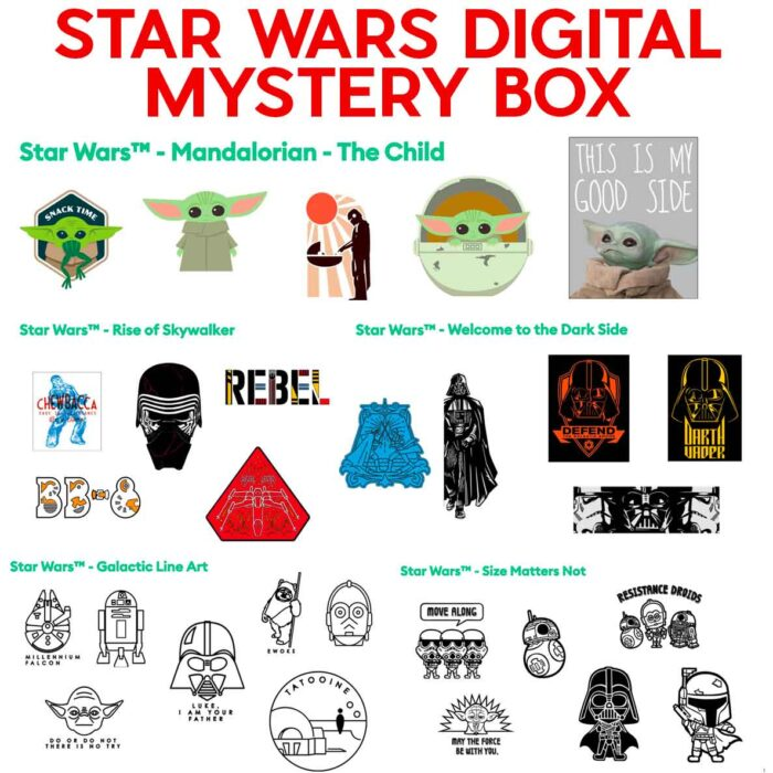 Star Wars Digital Mystery Box