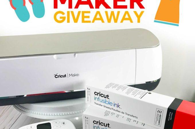 Summer Maker Giveaway - Win a Cricut Maker