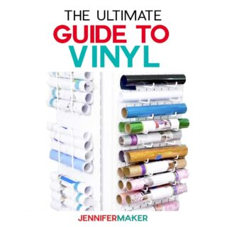 Ultimate Guide to Vinyl with answers to all of your questions! #cricut #vinyl