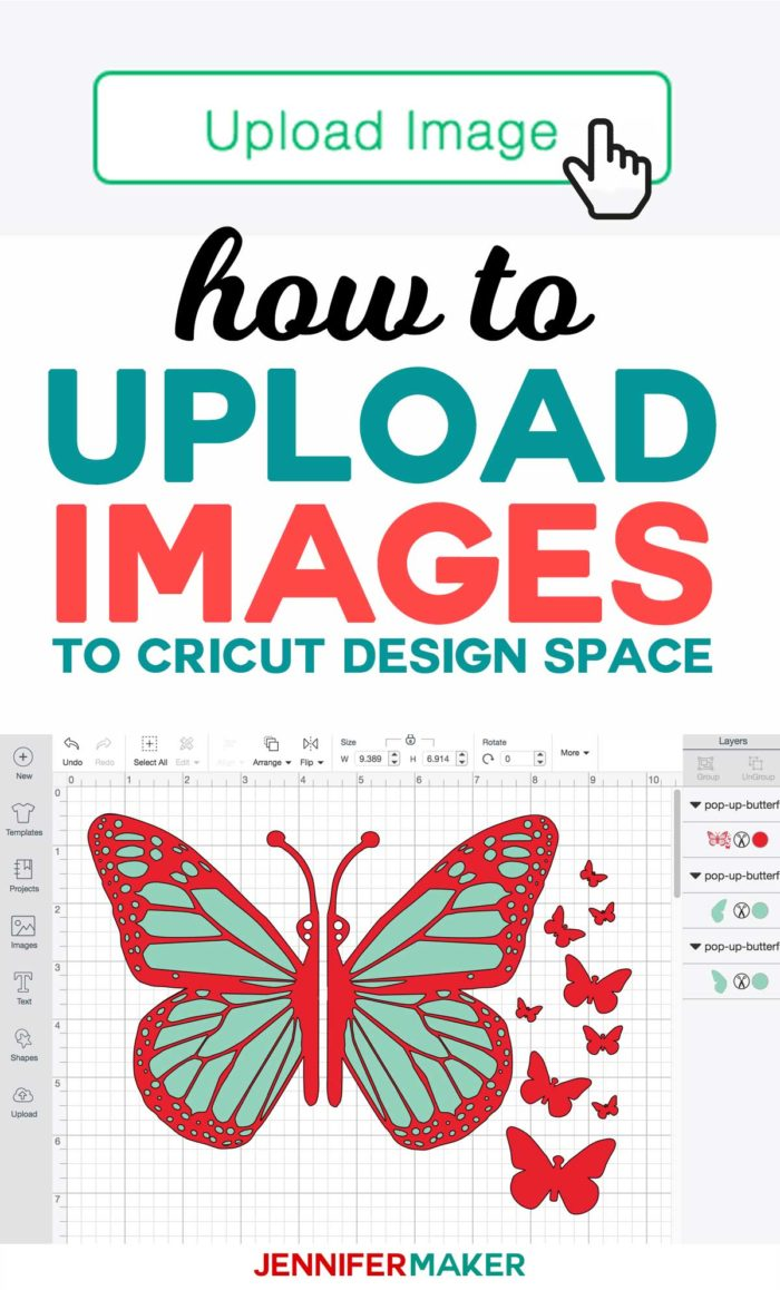 How to Upload Images to Cricut Design Space - Tutorial for Uploading SVG Cut Files #cricut #cricutexplore #uploading