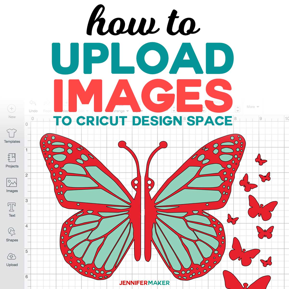 how to upload images to cricut design space jennifer maker