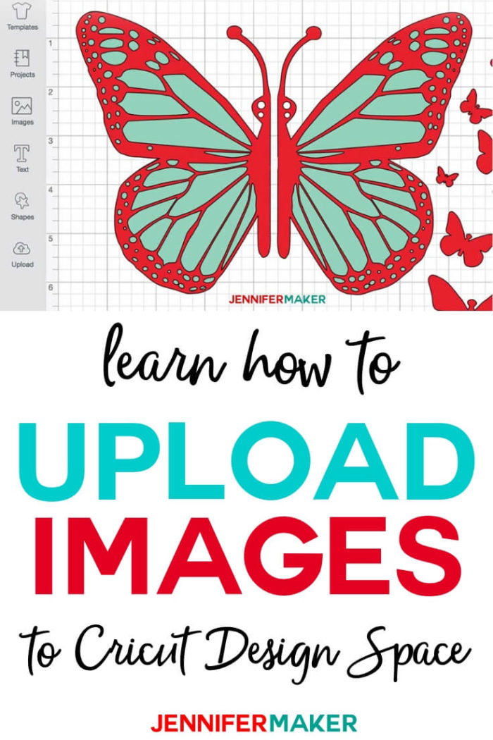 Learn how to easily upload images to Cricut Design Space on Windows, Mac, and even an iPad! I have Included step-by-step directions and videos that walk you through every step of uploading Cricut files.  #cricut #cricutmade #cricutmaker #cricutexplore #svg #svgfile