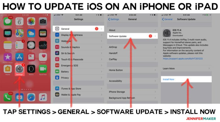 How to update iOS on your iPhone and iPad with simple step-by-step instructions so you can upload SVG files