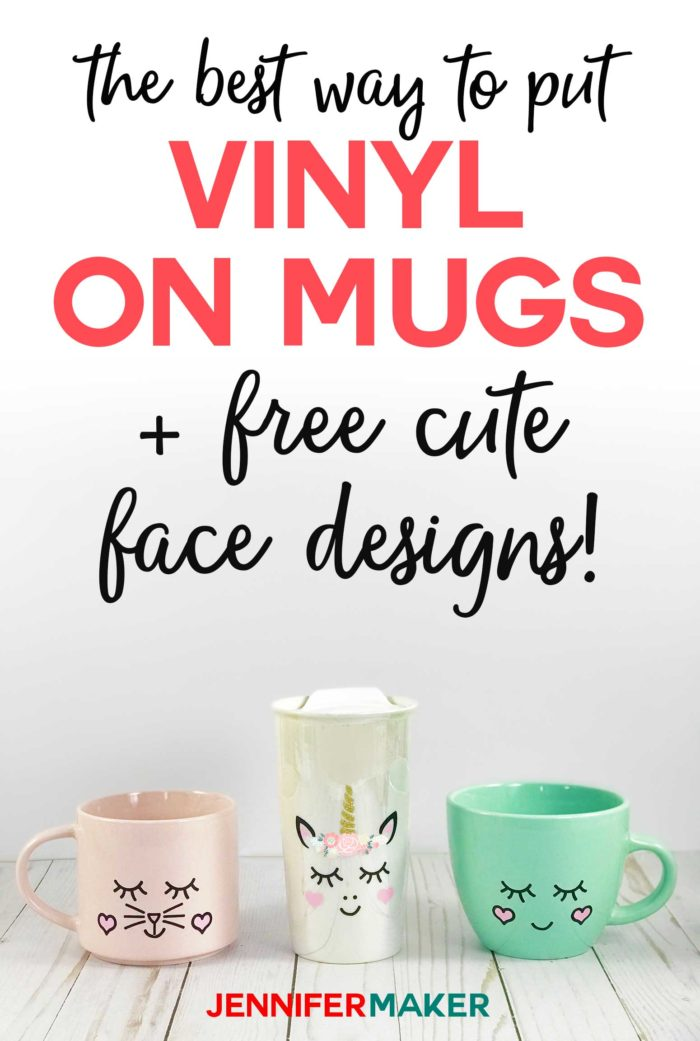 How To Put Vinyl On Mugs Cute Designs A Unicorn Jennifer Maker