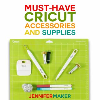What Cricut Accessories and Supplies do you need to get started crafting #cricut #cricuttools #papercrafts #vinyl