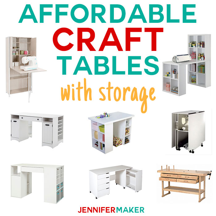 Where To Buy Craft Tables That Are Affordable Jennifer Maker