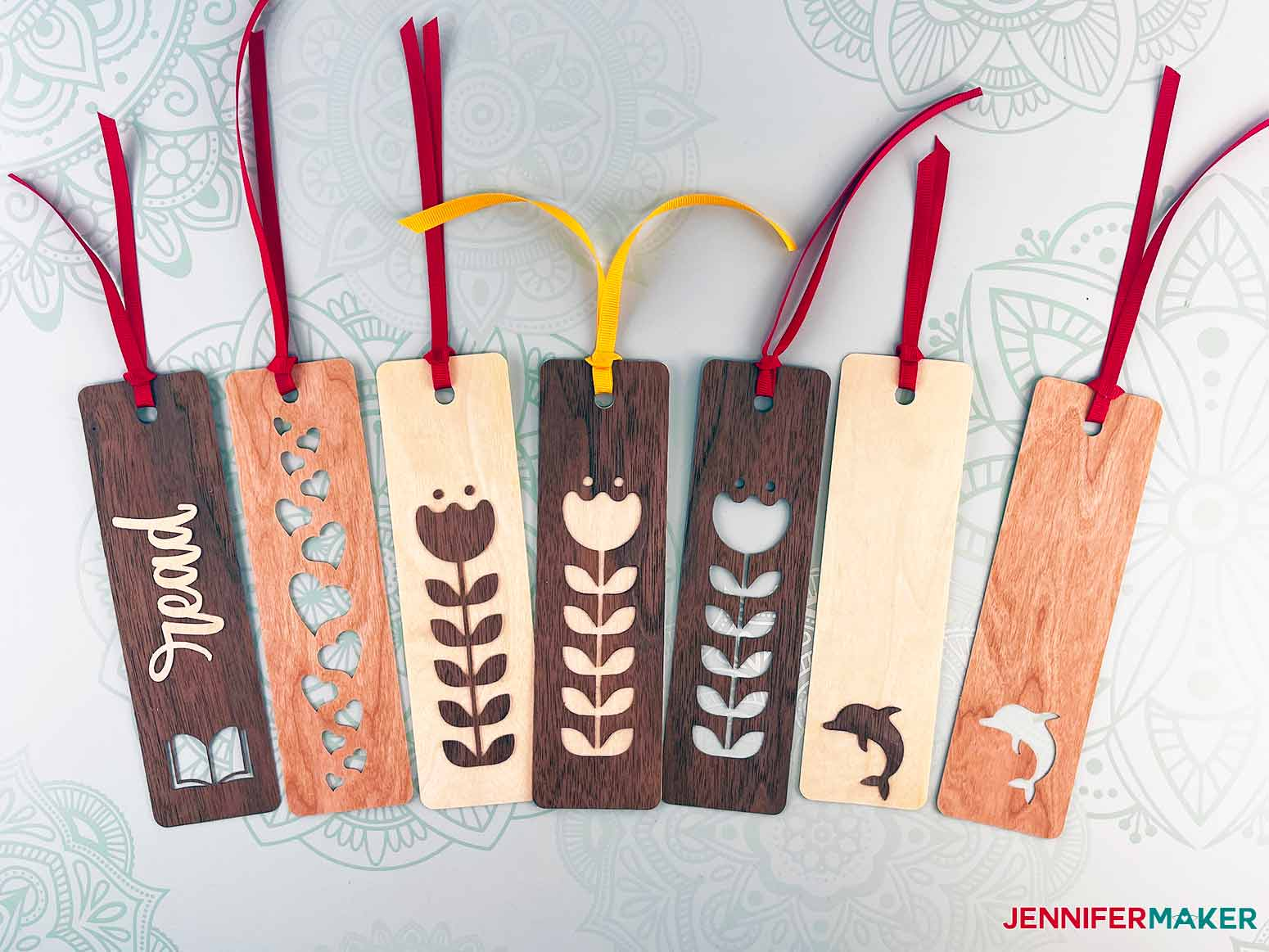 This is a variety of ways you can assemble your wooden bookmarks